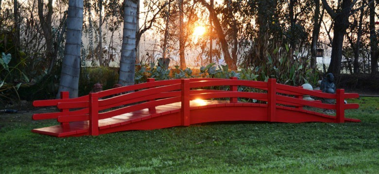 Superbe E Redwood Bridges   Custom Garden Bridges For Ponds Pools Gardens
